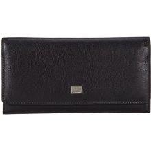 Mano dámská černá kožená peněženka 20154