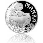 Česká mincovna Stříbrná mince Manka proof 10 g
