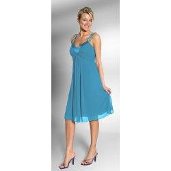 Krátké společenské tyrkysové šaty Rebecca Tyrkys alternativy ... 7fab719d17d