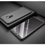 Pouzdro Beweare 360 oboustranné s TVRZENéM SKLEM na Samsung Galaxy A6 2018 - černé