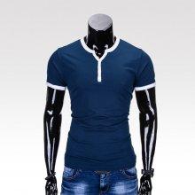 Pánské tričko s výstřihem do V Access světle modré