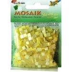 Folia Mozaika plastová 5 x 5 mm Žlutá