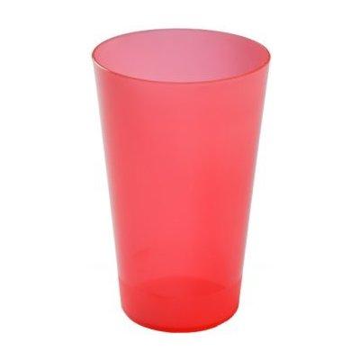 Injeton Plast Vratný kelímek červená 500 ml