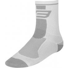 Force ponožky Long white/gray
