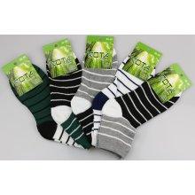 039637e82d3 Rota dámské bambusové ponožky proužek 5 kusů
