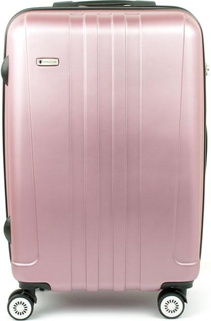 Cestovní zavazadla AIRTEX Worldline 602 kufr 37x22x56 Světle růžová ... 7a3f2646fc