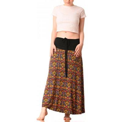 Střečové sukně/šaty Azték yellow