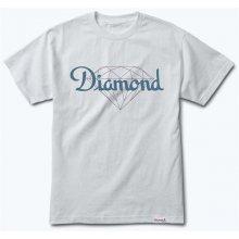 Diamond Champagne Cut Tee White WHT triko
