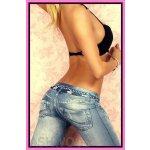 f5368a06812 jeans legíny stretch slim modré