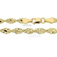 Náramek ze žlutého zlata LUXUR GOLD 3640021