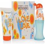 Moschino I Love Love 50 ml EDT + tělové mléko 100 ml dárková sada
