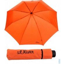 deštník skládací s.Oliver Fruit-Cocktail 70801SO16 oranžový, S´oliver