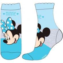 E plus M Dívčí ponožky Minnie modré