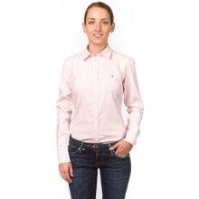 Gant dámská jemně proužkovaná košile růžová