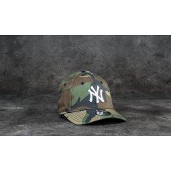 783786321 New Era 9Forty Junior League Essential New York Yankees Cap Woodland Camo