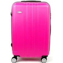 AIRTEX Worldline 602 malý skořepinový kufr 37x22x56, Růžová