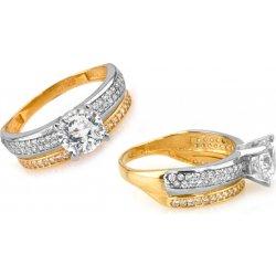 Zlaty Zasnubni Prsten Tiffany 4 Iz6817 Alternativy Heureka Cz