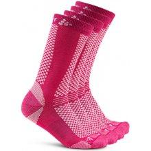 1a1ff7e3970 Craft Warm 2-pack ponožky růžová 720658