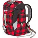 Ergobag batoh Mini červený/černý