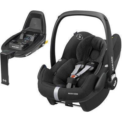 MAXI-COSI Pebble Pro i-Size 2021 + Základna Family Fix2 essential black
