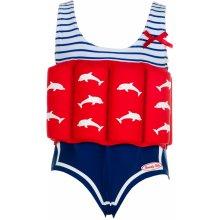 Beverly Kids dívčí nadnášející plavky Marlene modro červené