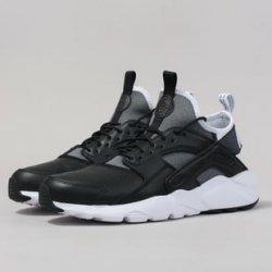 Nike Air Huarache Run Ultra SE black   black white alternativy ... c3df459ad0d