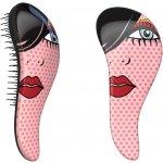 Detangler Red Lip profesionální rozčesávací hřeben na vlasy s rukojetí 1311d3749e