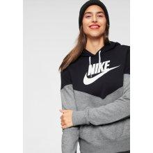 21ce887ee0aa Nike Sportswear HRTG Hoodie FLC šedá   černá