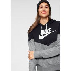 Nike Sportswear HRTG Hoodie FLC šedá   černá od 1 290 Kč - Heureka.cz 30aa936977