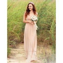 197afaf9f506 Ever-Pretty šaty inspirované antikou ze šifonu EP08697BH béžová