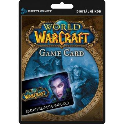World of Warcraft předplacená karta 30 dní