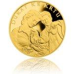 Česká mincovna Zlatý dukát ke křtu s věnováním 3,49 g