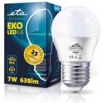 ETA EKO LEDka mini globe, 7W, E27, teplá bílá