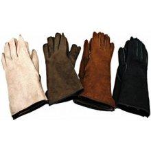 9039d550607 Sikora dámské kožešinové prstové rukavice DK 01 hnědá