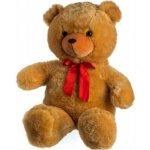 Medvěd plyš s mašlí světle hnědý od 0 měsíců 100cm
