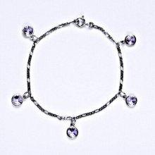 Swarovski krystaly violet, kolečka, R 1336