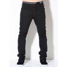 Horsefeathers Jeans FORSAGE černé
