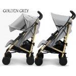 Elodie Details Stockholm Stroller Golden šedý 2015