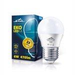 ETA EKO LEDka mini globe 6W E27 teplá bílá