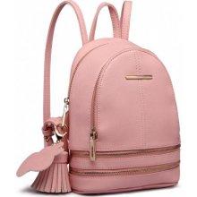 a8f21755c Miss Lulu Roztomilý designový batůžek růžový