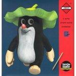 Škrabací obrázky Panda a Little Mole červené