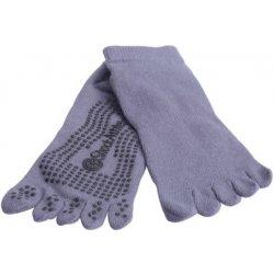 55994c0afc5 ponožky Yoga Piloxing Pilates prstové - černá - 1 pár