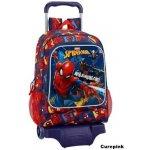 CurePink batoh Spider-Man s vozíkem It s Web Slinging Time S kolečky objem  23 litrů 532cec69cf