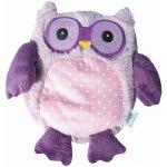 Plyšová hračka ALBI Hooty sova fialová