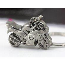 Přívěsek na klíče motorka