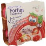 Fortini Creamy Fruit Multi Fibre červené ovoce por.sol. 4 x 100 g