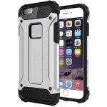 Pouzdro AppleKing super odolné Armor Apple iPhone 6 / 6S stříbrné