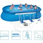 Intex 3,66 x 6,1 Oval Frame Pool x1,22 m