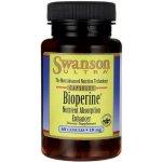 Swanson Piperin Bioperine 10 mg 60 kapslí