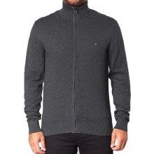 Tommy Hilfiger Pánský svetr na zip 333 tmavě šedý 3dac5e57df